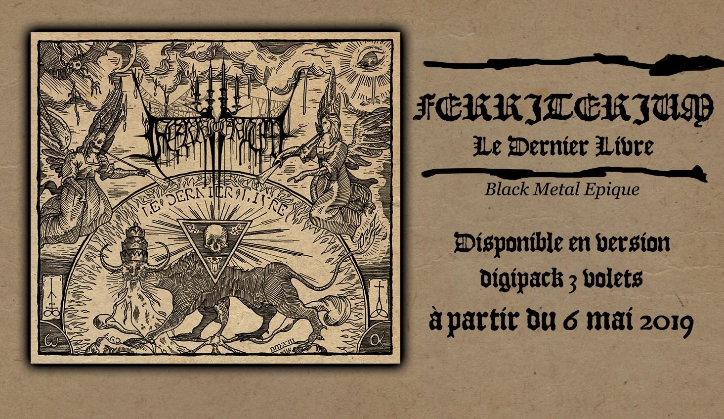 Ferriterium - Le dernier livre - Digipack