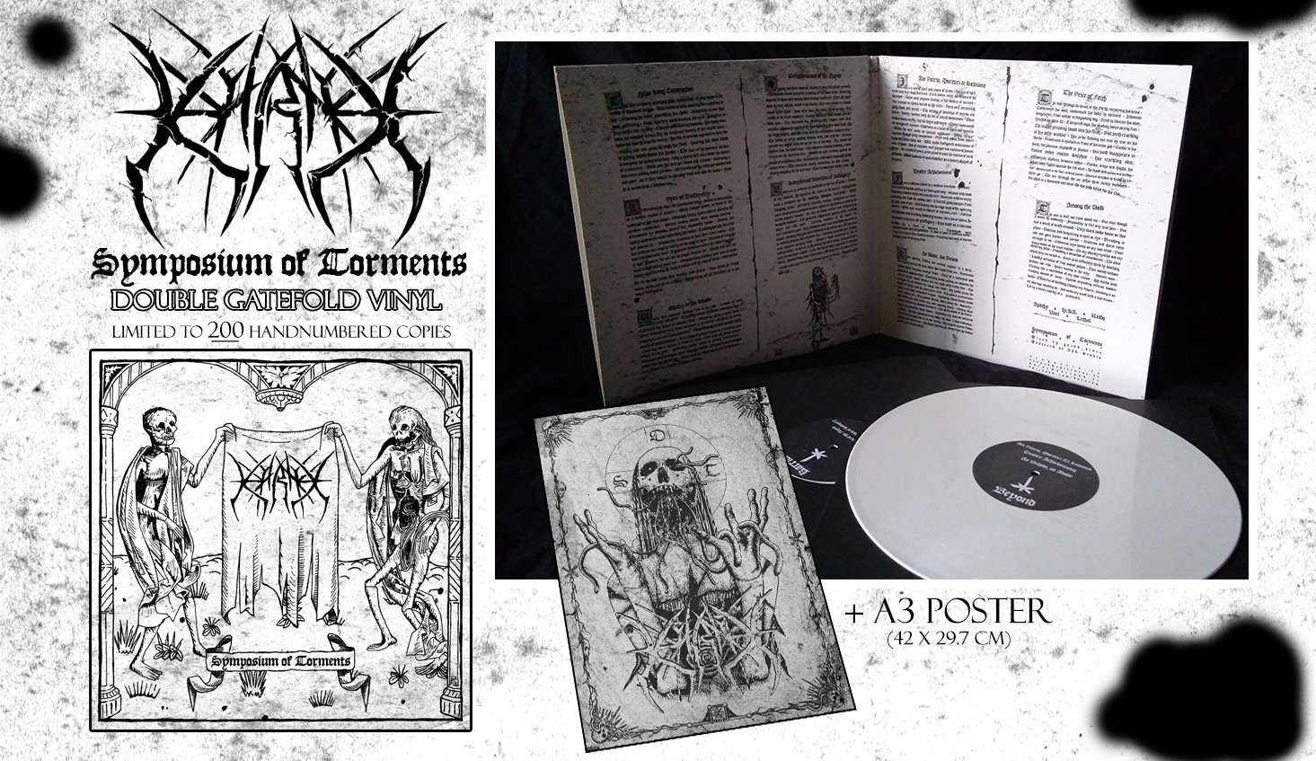 KARNE - SYMPOSIUM OF TORMENTS (DOUBLE LP)