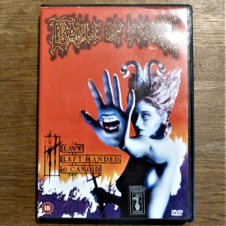 Cradle Of Filth - Heavy Left-Handed & Candid DVD (USED)