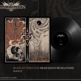 "Blaze of Perdition - Near DeathRevelations - 12"" LP Black"