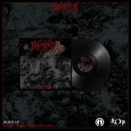 """Ragnarok - Non Debellicata -  12"""" LP Black."""