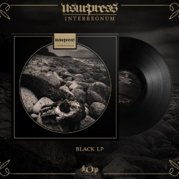 "Usurpress - Interregnum 12"" LP Black"