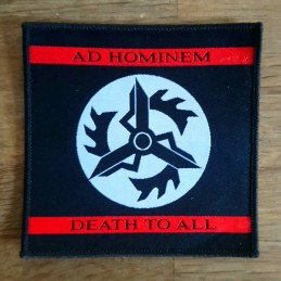 Ad Hominem - Patch (Death To All)