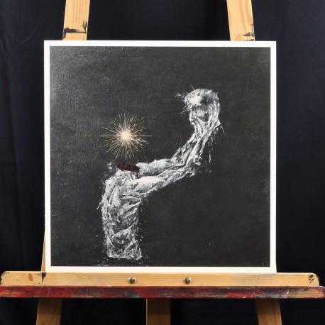 """Print of """"Calvaire"""" 40x40 cm"""